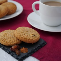 Spiced Fruit Biscuits