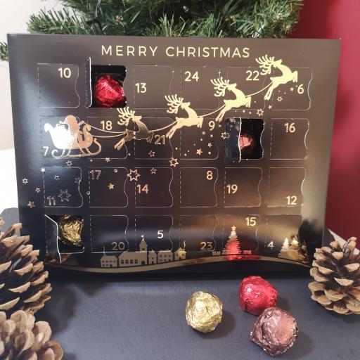 Luxury Alcoholic Truffles Advent Calendar