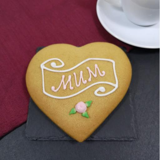 Gingerbread Mother's Day Heart